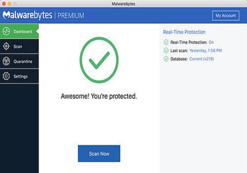 Telecharger Malwarebytes Anti-Malware pour Mac