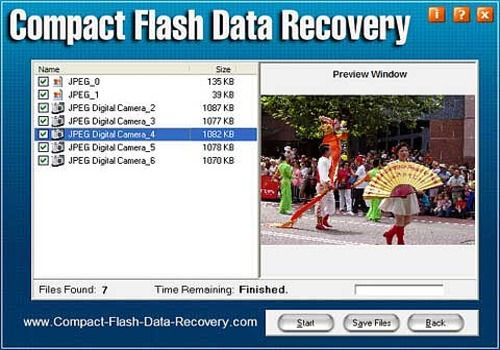 Telecharger Compact Flash Data Recovery