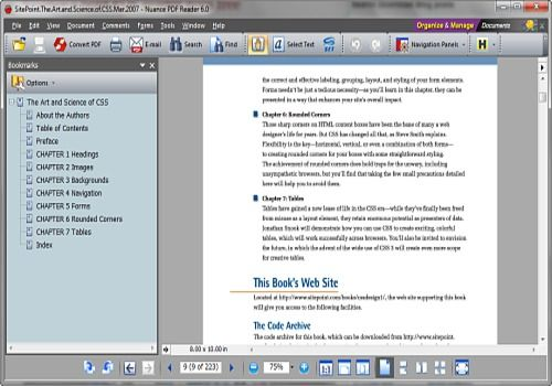Telecharger Nuance PDF Reader