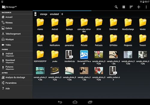 Telecharger File Manager HD (Explorer)