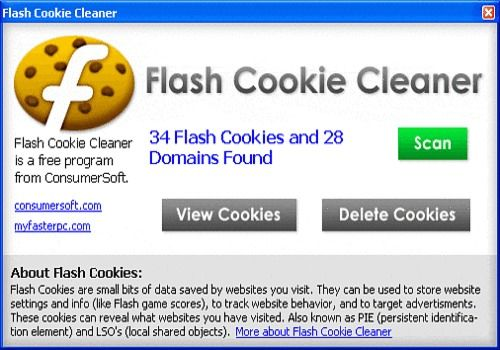 Telecharger Flash Cookie Cleaner