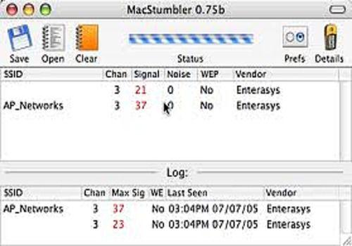 Telecharger MacStumbler