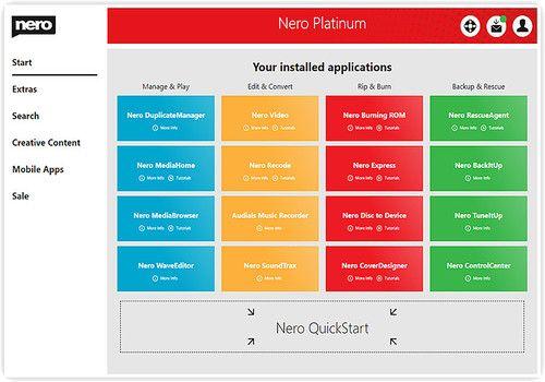 Telecharger Nero 2015 Platinum 16.0.05000