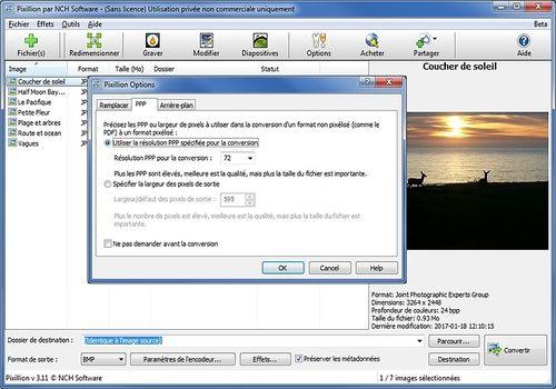 Telecharger Pixillion - Convertisseur d'images gratuit