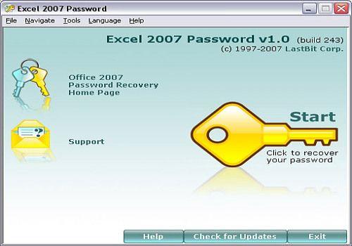 Telecharger Excel 2007 Password