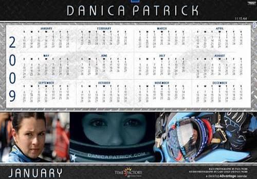 Telecharger Danica Patrick 2009 Calendar for Macintosh