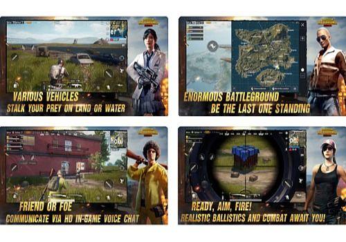 Telecharger PUBG Exhilarating Battlefield iOS