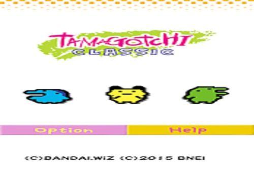 Telecharger Tamagotchi Classic - Gen1