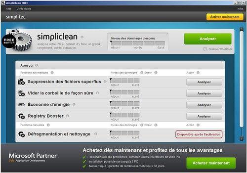 Telecharger simplitec simpliclean FREE