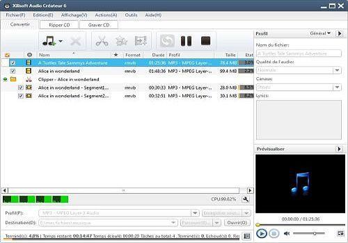 Telecharger Xilisoft Audio Créateur