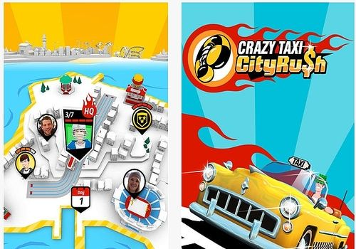 Telecharger Crazy Taxi City Rush iOS