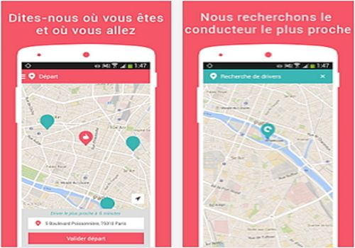 Telecharger Heetch, le transport social