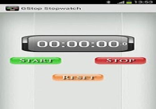 Telecharger GStop Stopwatch - Chronometer