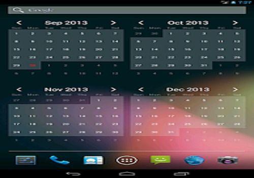 Telecharger Free Calendar Widget
