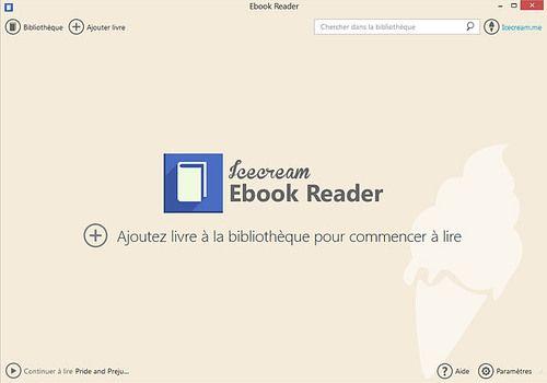 Telecharger Icecream Ebook Reader 5.07