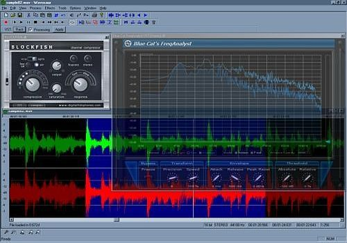 Telecharger Wavosaur free audio editor