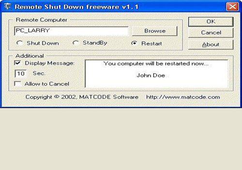 Telecharger RemoteShutdown