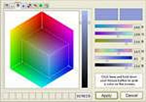Telecharger Absolute Color Picker ActiveX Control