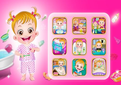 Telecharger Baby Hazel Baby Care Games