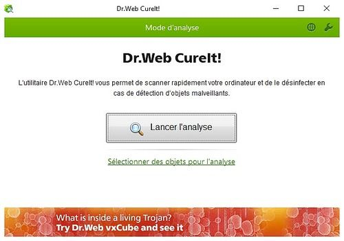 doctor web cureit gratuit
