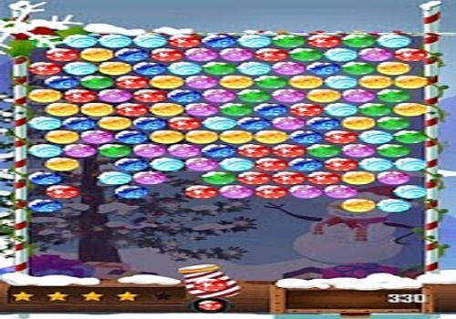 Telecharger Bubble Shooter Christmas HD