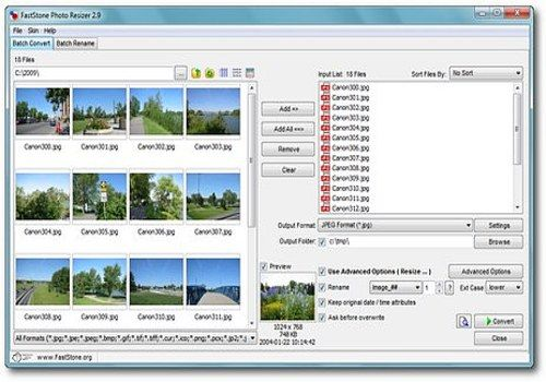Telecharger FastStone Photo Resizer