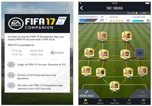 Telecharger FIFA 17 Companion iOS