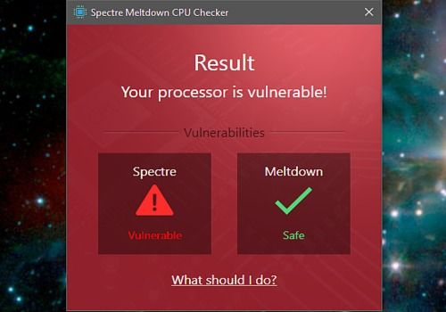 Telecharger Ashampoo Spectre Meltdown CPU Checker