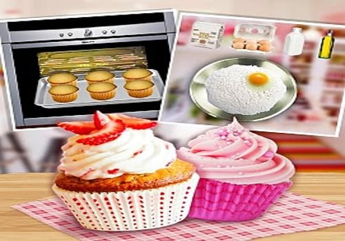 Telecharger Tasty Strawberry Cupcake Maker