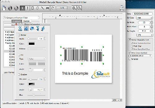 Telecharger IWinSoft Barcode Maker for Mac