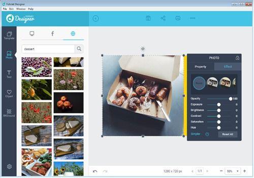 Telecharger FotoJet Designer 1.1.0