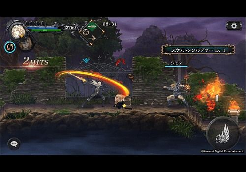 Telecharger Castlevania Grimoire of Souls Android