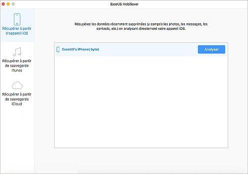 Telecharger EaseUS MobiSaver Free for Mac