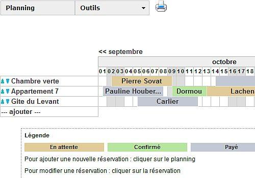 logiciel planning location saisonniere gratuit