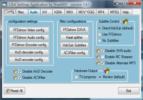 Telecharger Vista Codec Package