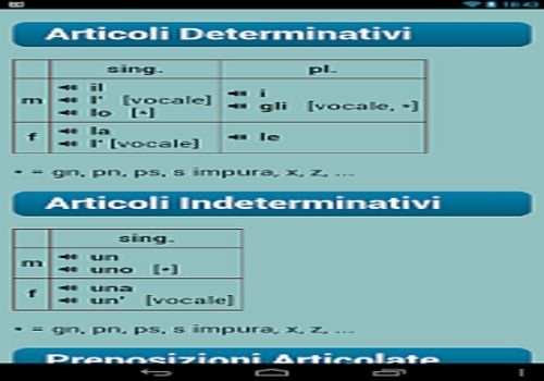Telecharger Verbes Italiens