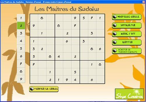 Telecharger Les Maitres du Sudoku