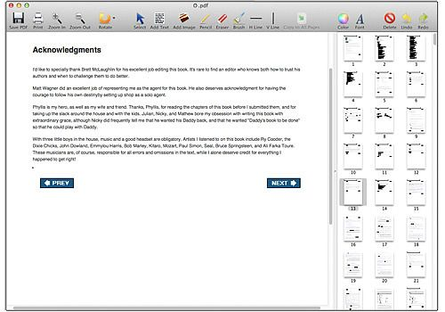 Telecharger PDF Editor Mac