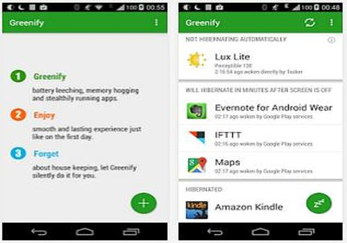 Telecharger Greenify Android