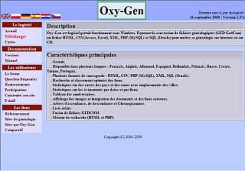 Telecharger Oxy-Gen : Le convertisseur de GedCom