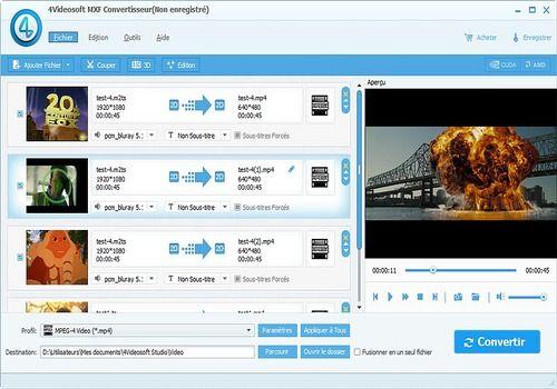 Telecharger 4Videosoft MXF Convertisseur