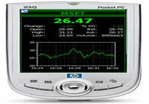 Telecharger Stock Quotes for Pocket PC
