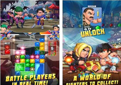 Telecharger Puzzle Fighter Android
