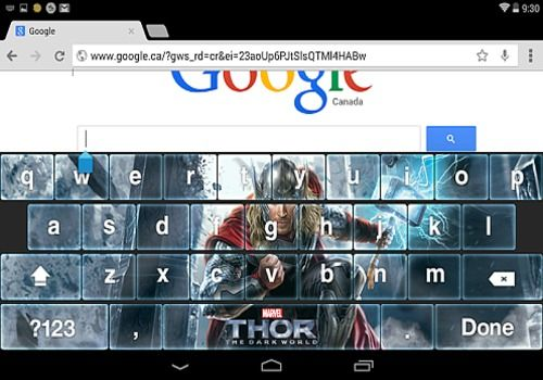 Telecharger Thor: The Dark World Keyboard
