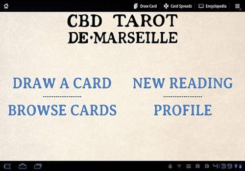 Telecharger CBD Tarot de Marseille