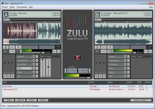 Telecharger Zulu - Logiciel professionnel gratuit pour DJ