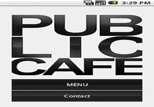 Telecharger PUBLIC CAFE - Menu PL / EN
