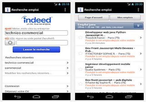 Telecharger Indeed : Recherche d'emploi iOS