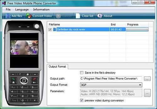 Telecharger Free 3GP Converter