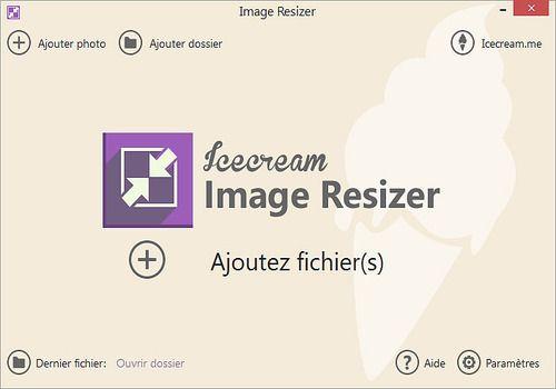 Telecharger Icecream Image Resizer 1.50